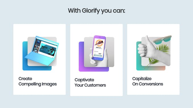 Glorify | Designing Tool For ECommerce Business 2