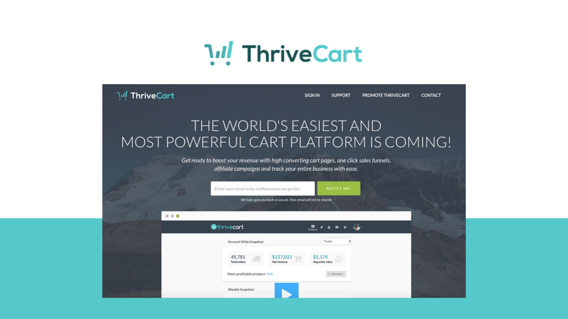 ThriveCart lifetime deal