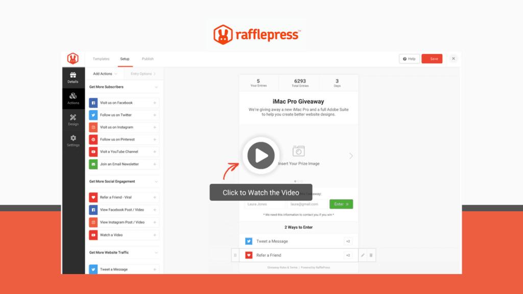 Rafflepress Lifetime Deal