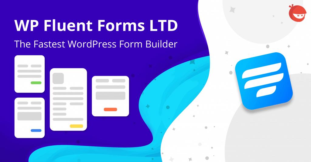 WP Fluent Form lifetime deal
