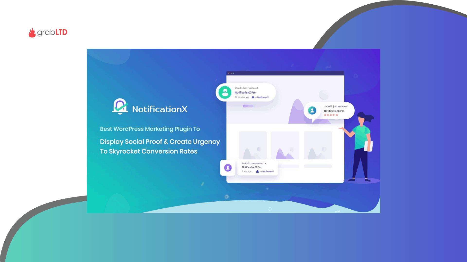 notificationx lifetime deal