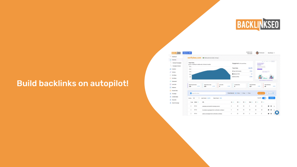 BacklinkSEO | Build and Monitor Backlinks Easily 1