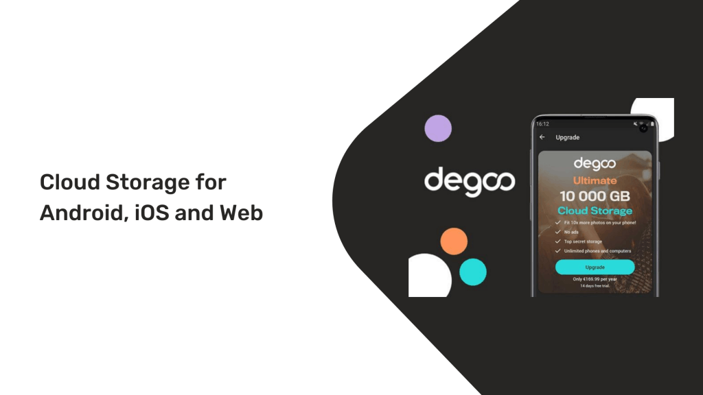 Degoo Lifetime Deal