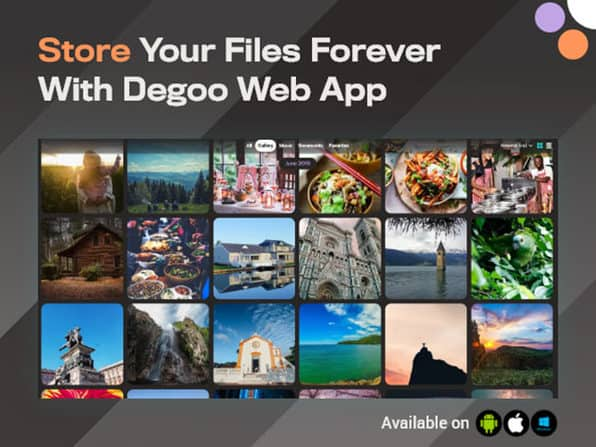 Degoo | Cloud Storage for Android, iOS and Web 1