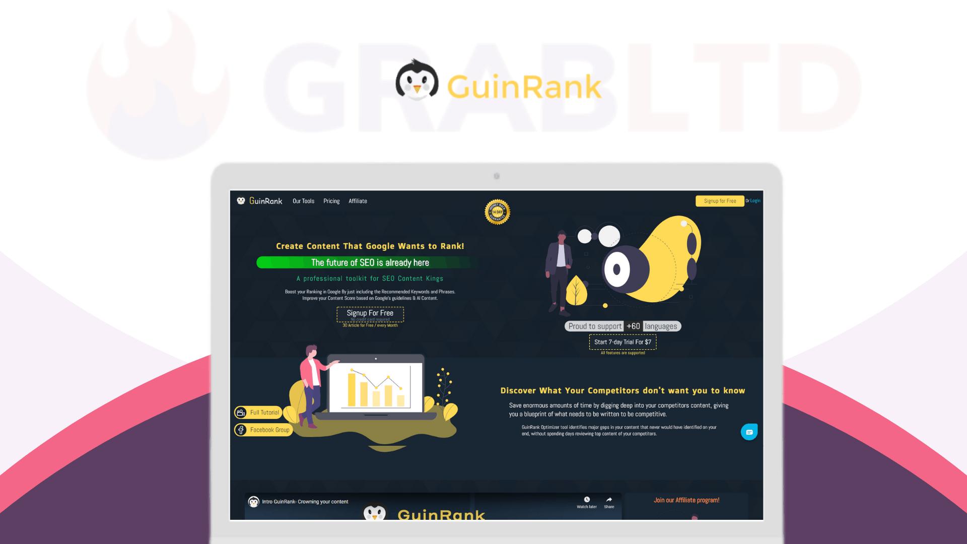 GuinRank Lifetime Deal