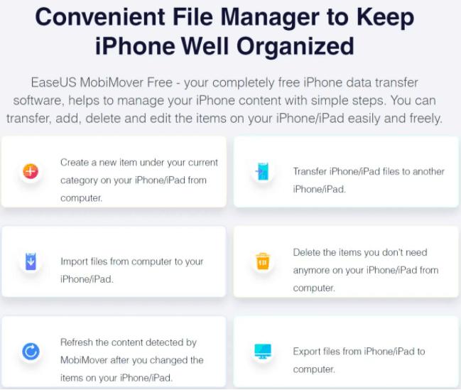MobiMover | iOS Data Transfer Software 2