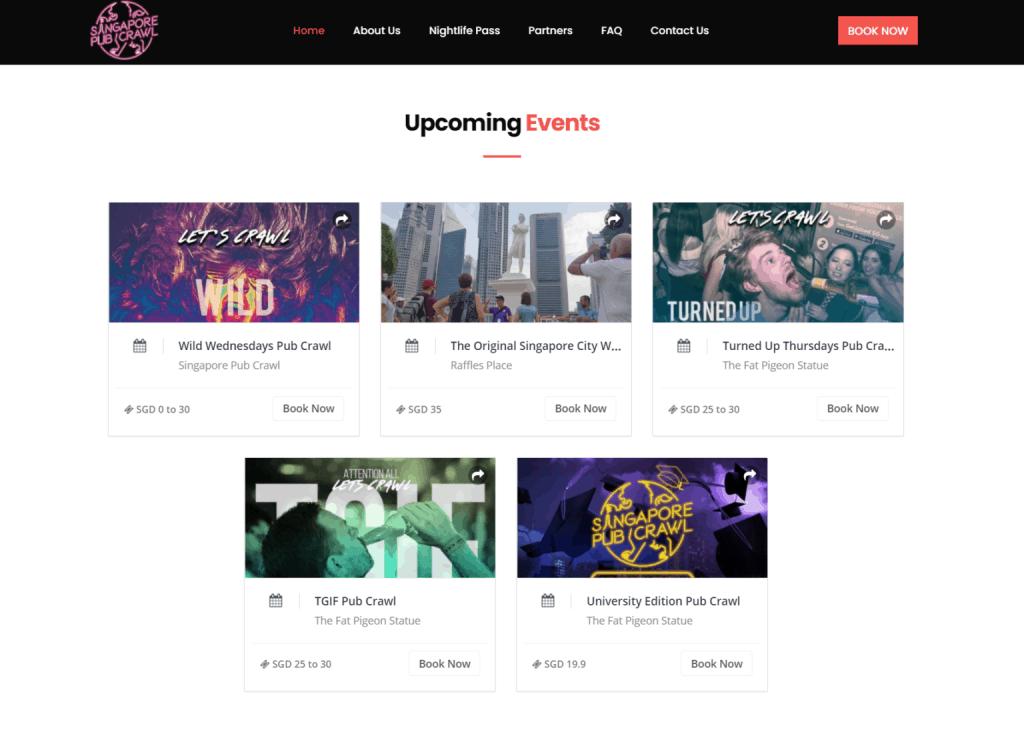 Wootick   Branded Events Website & Ticketing Platform 2