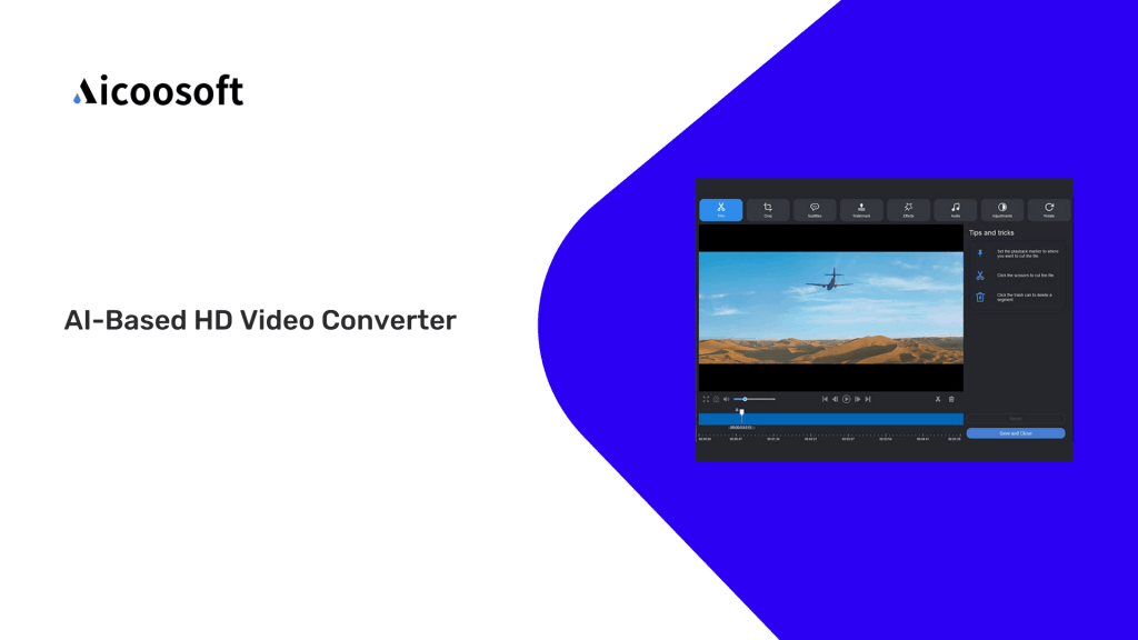 Aicoosoft | AI-Based HD Video Converter 1