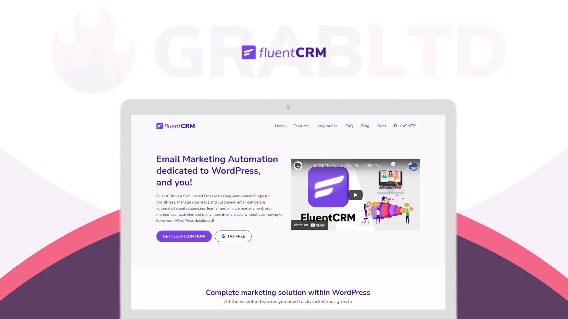FluentCRM Lifetime Software Deal