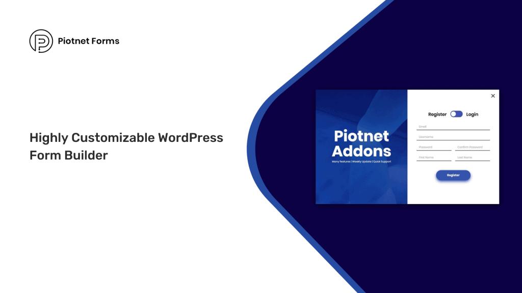 Piotnetforms | Highly Customizable WordPress Form Builder 2