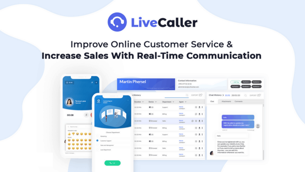 LiveCaller | Cloud-Based Customer Communication Software 2