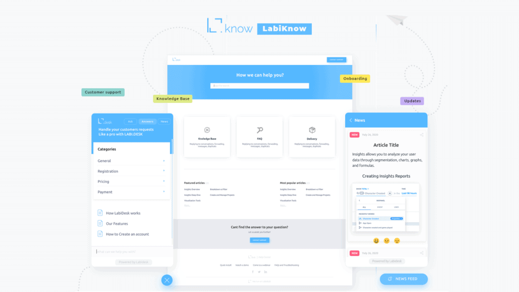 LabiKnow | Customizable Knowledge Base 2