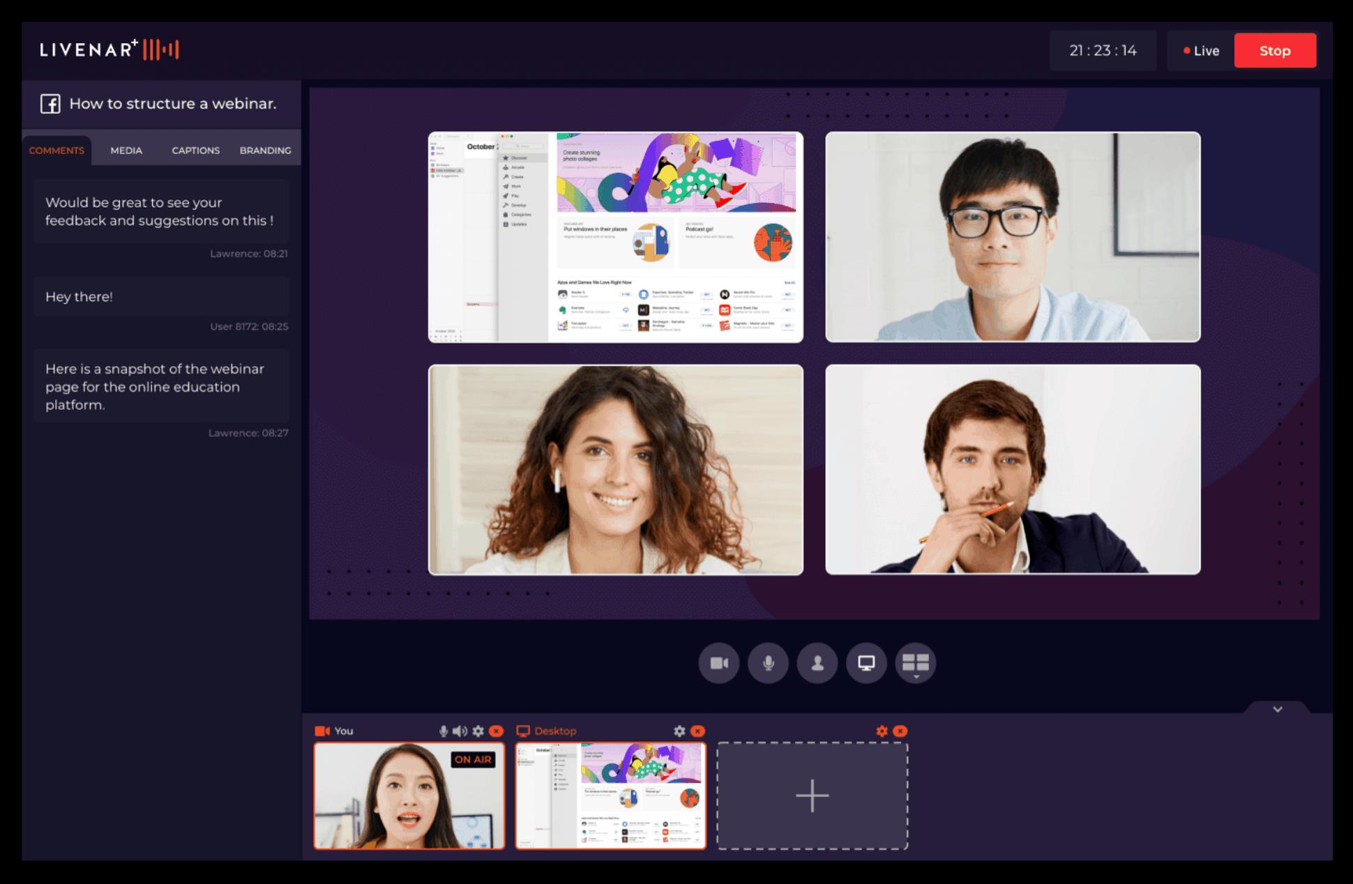 Livenar | Live Streaming platform 3