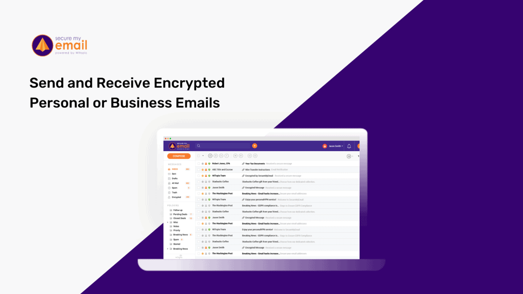 SecureMyEmail | Send and Receive Encrypted Emails 1