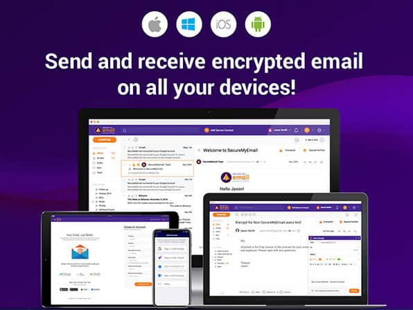 SecureMyEmail | Send and Receive Encrypted Emails 3
