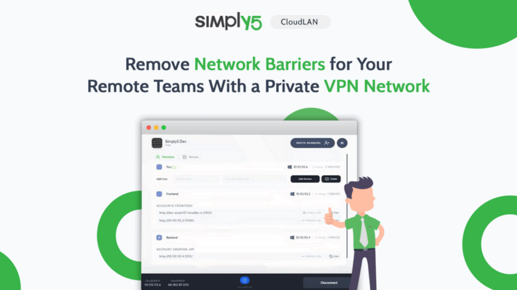 Simply5 | Remove Network Barriers for Remote Teams 2