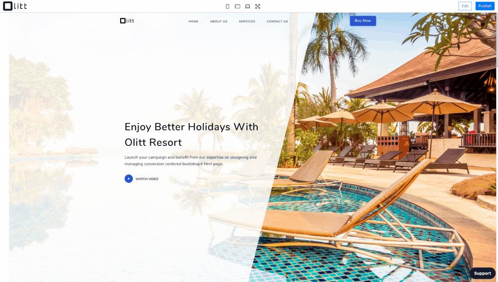 Olitt | #1 Best Website Builder 3