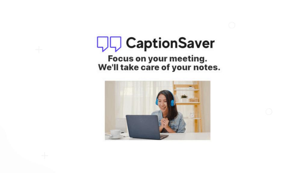 CaptionSaver | Save Google Meet Captions 1