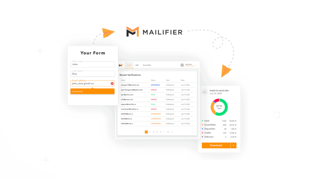 Mailifier   Email Verification Platform & API 1