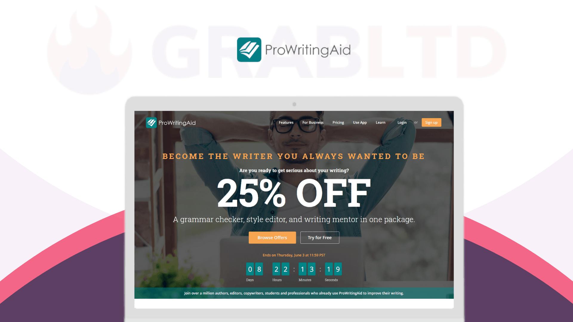 ProWritingAid Lifetime Deal