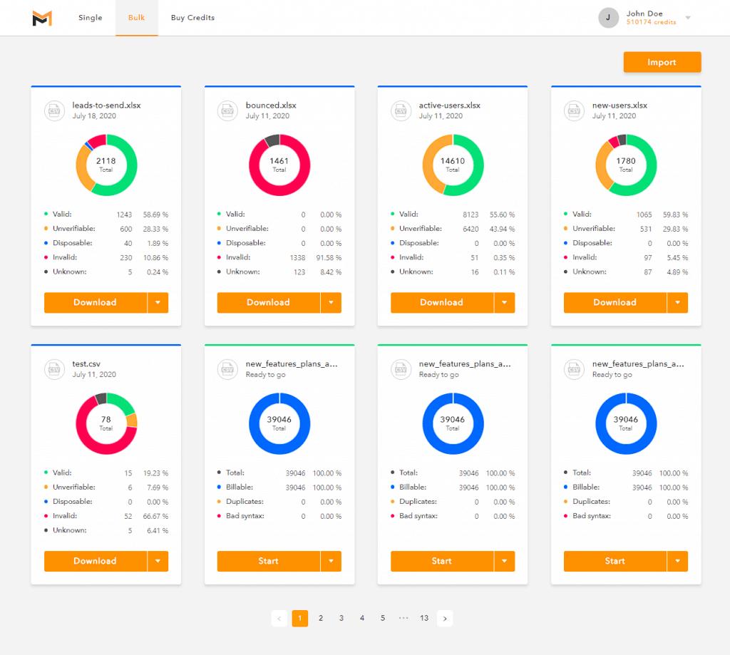 Mailifier | Email Verification Platform & API 3