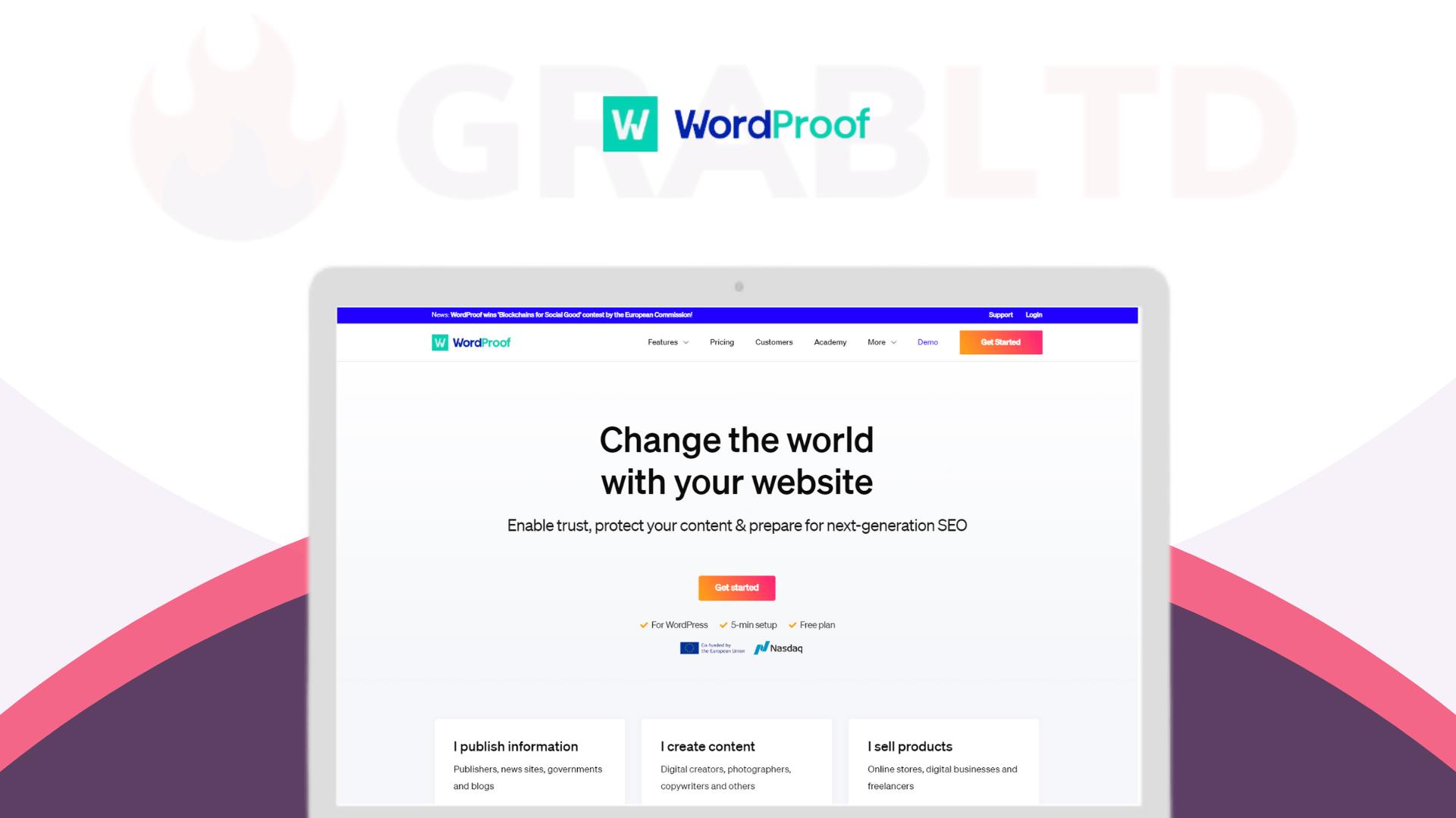 wordproof Lifetime Software Deal