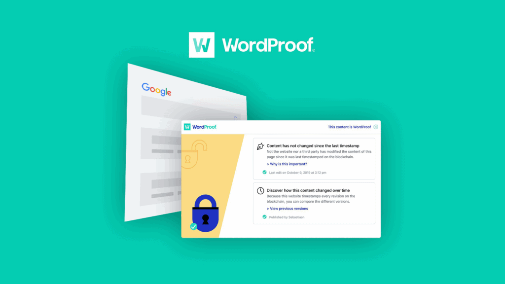 WordProof | SEO WordPress Plugin for Content Protection 2