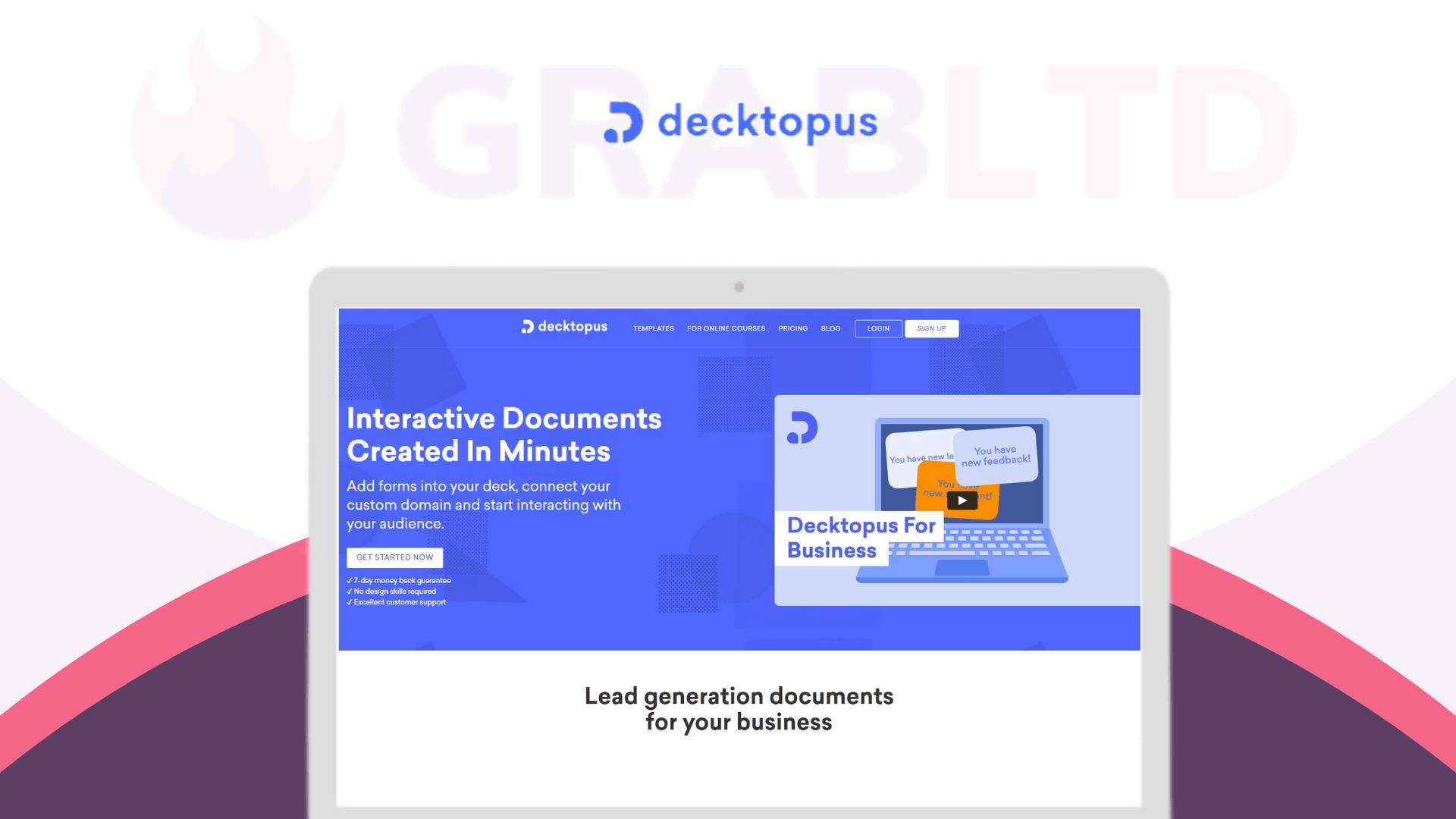 Decktopus Lifetime Software Deal