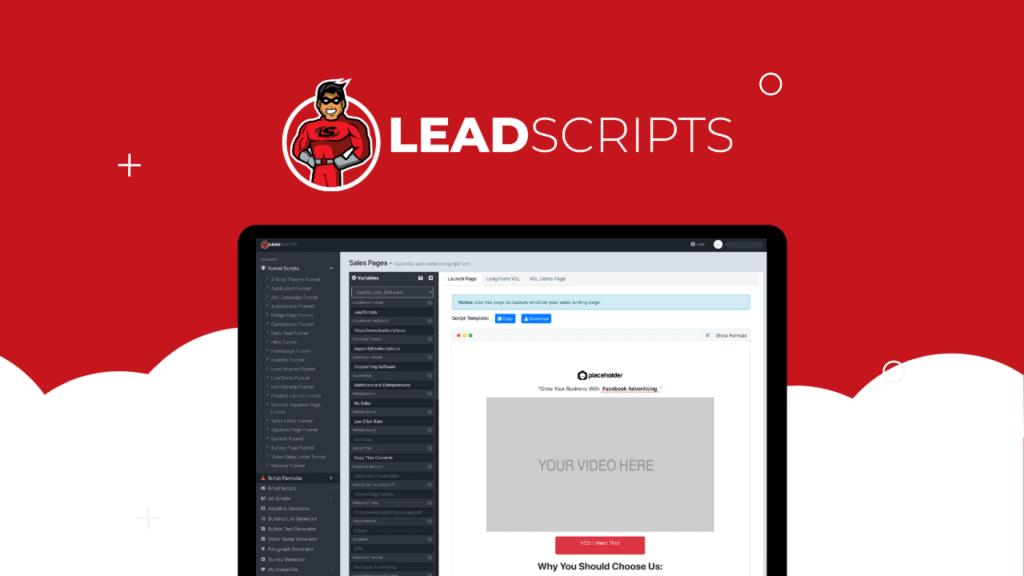 LeadScripts   The Best Funnel Scripts Software 1