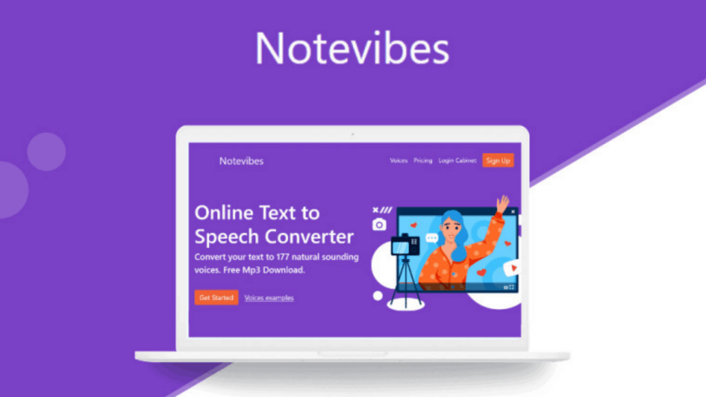 Notevibes | Best Online Text to Speech Converter 2