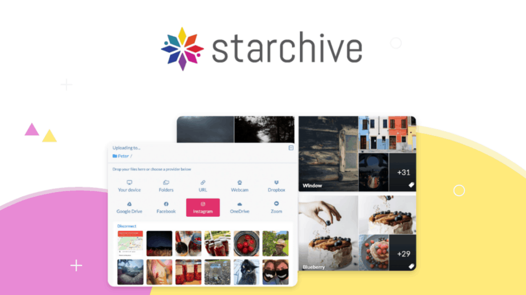 Starchive | Store Your Files In The Cloud 2