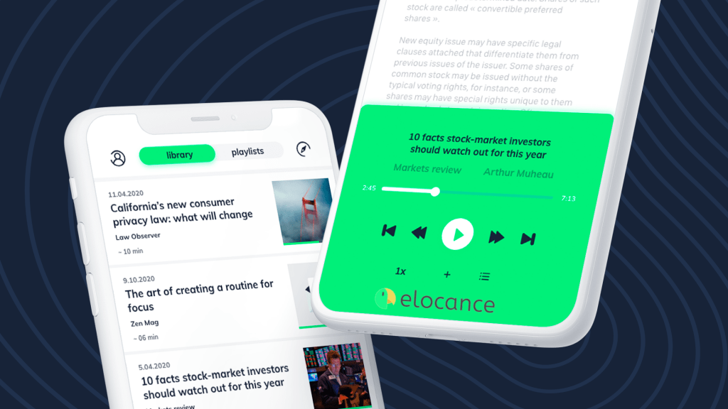 Elocance | Convert Your Content Into a Podcast 2