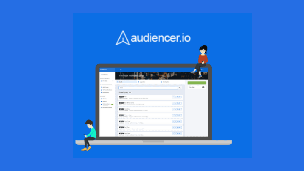 Audiencer | Facebook Interest Targeting Tool 1