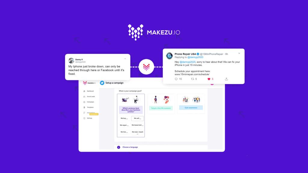 Makezu | Twitter Growth Hacking Automation Platform 2