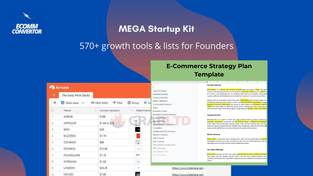 Mega Startup Kit Lifetime Deal