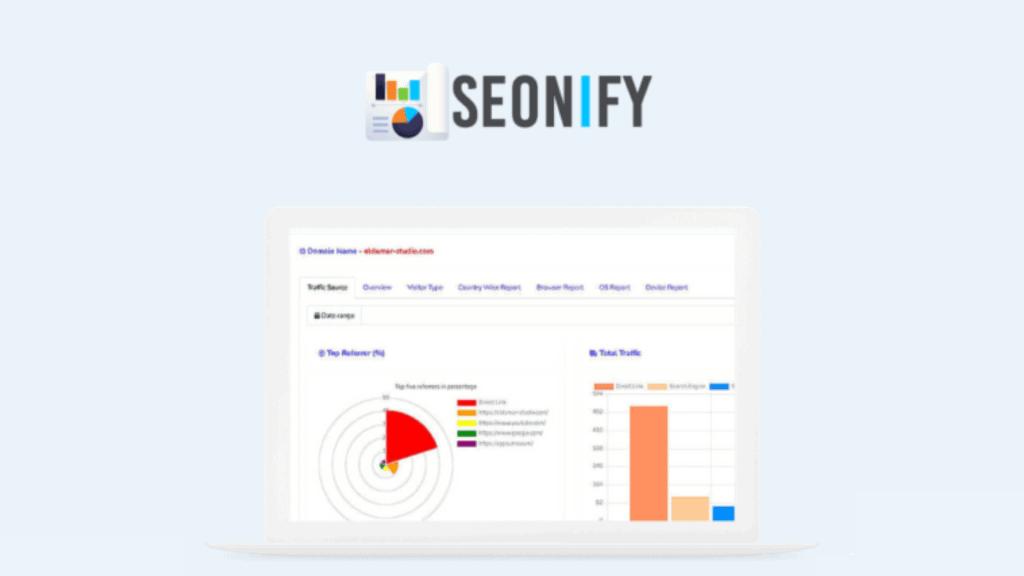 Soenify   SEO Tools & Visitor Analytics 1