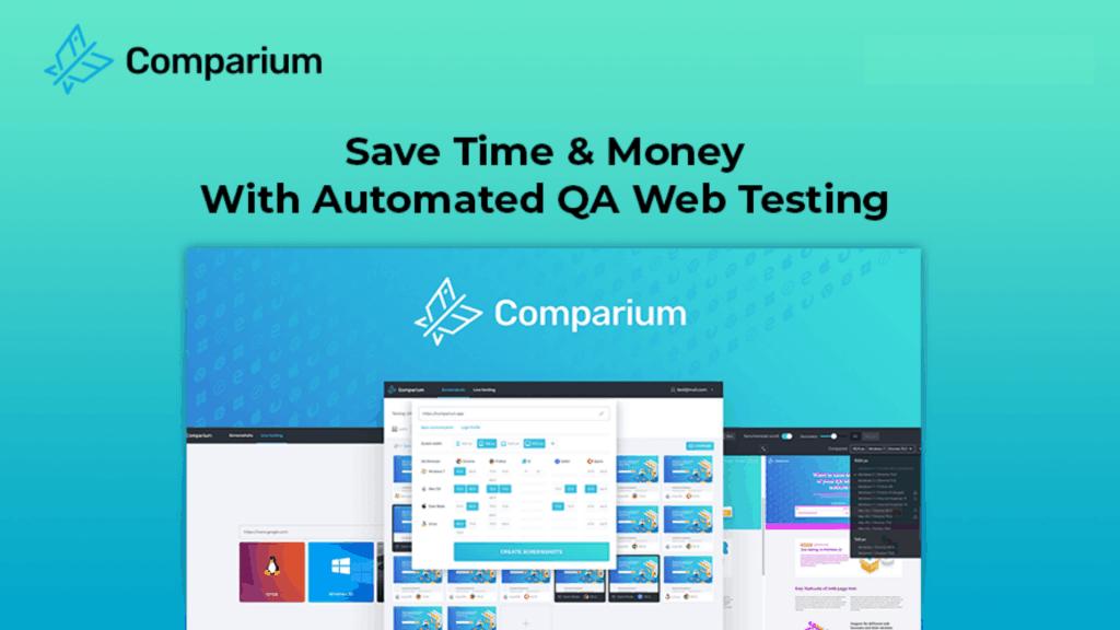 Comparium | Cross-Browser Website Testing Tool 1