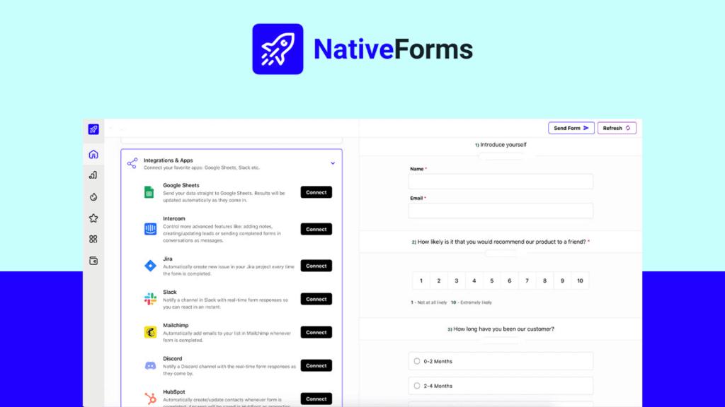 NativeForms | Build Hassle-Free Forms, Surveys & Polls 2