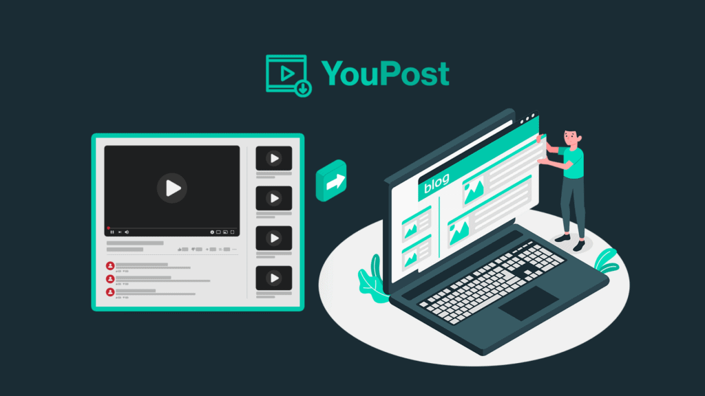 YouPost | Convert YT Videos Into Articles 2