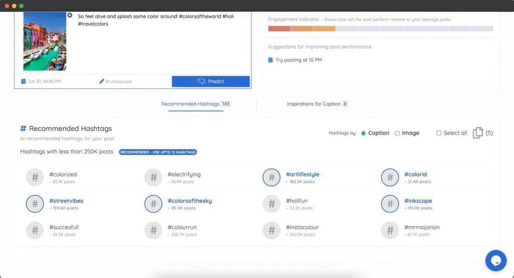 Predis | Write Better Posts Using AI 2