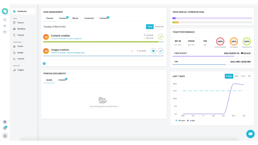Taskomat | ROI Management Platform 3