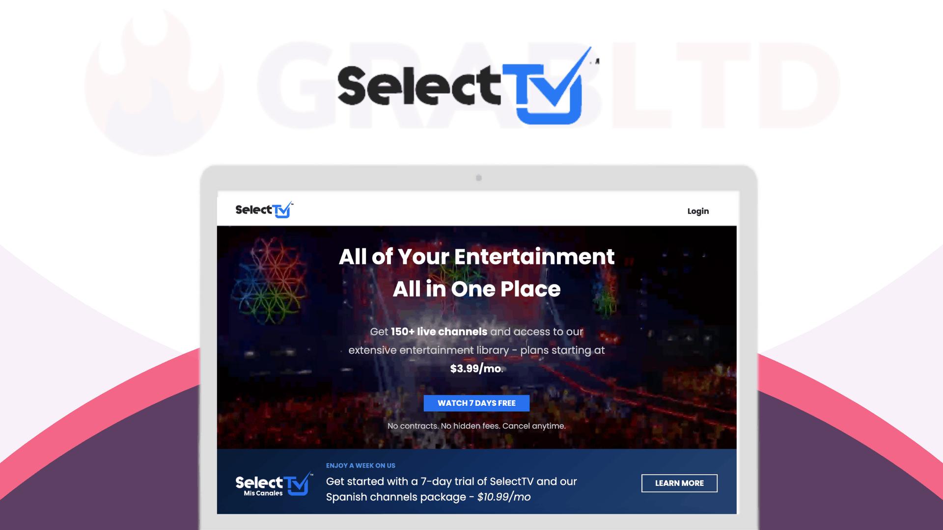 SelectTV Lifetime Software Deal