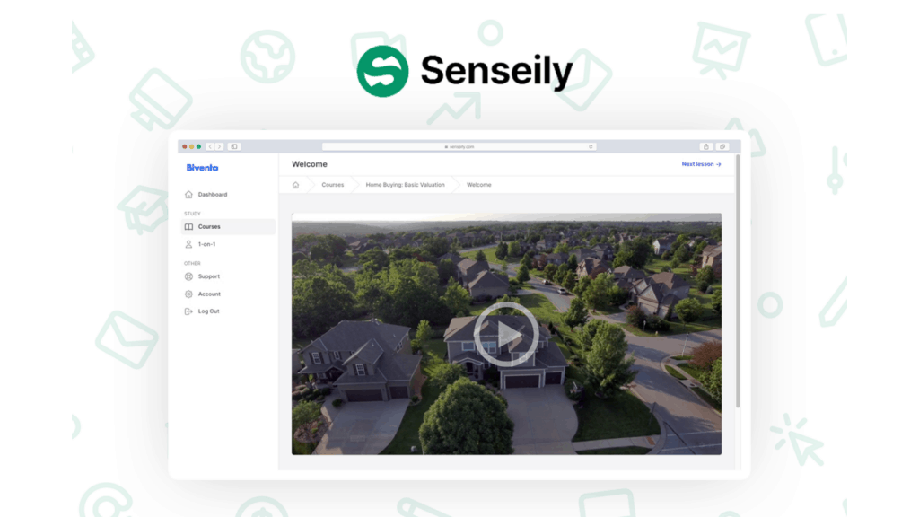 Senseily | Create & Sell Online Courses with ease 1