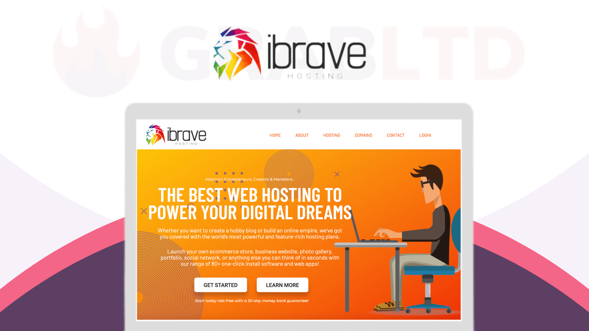 iBrave | Truly Unlimited Cloud Web Hosting 1