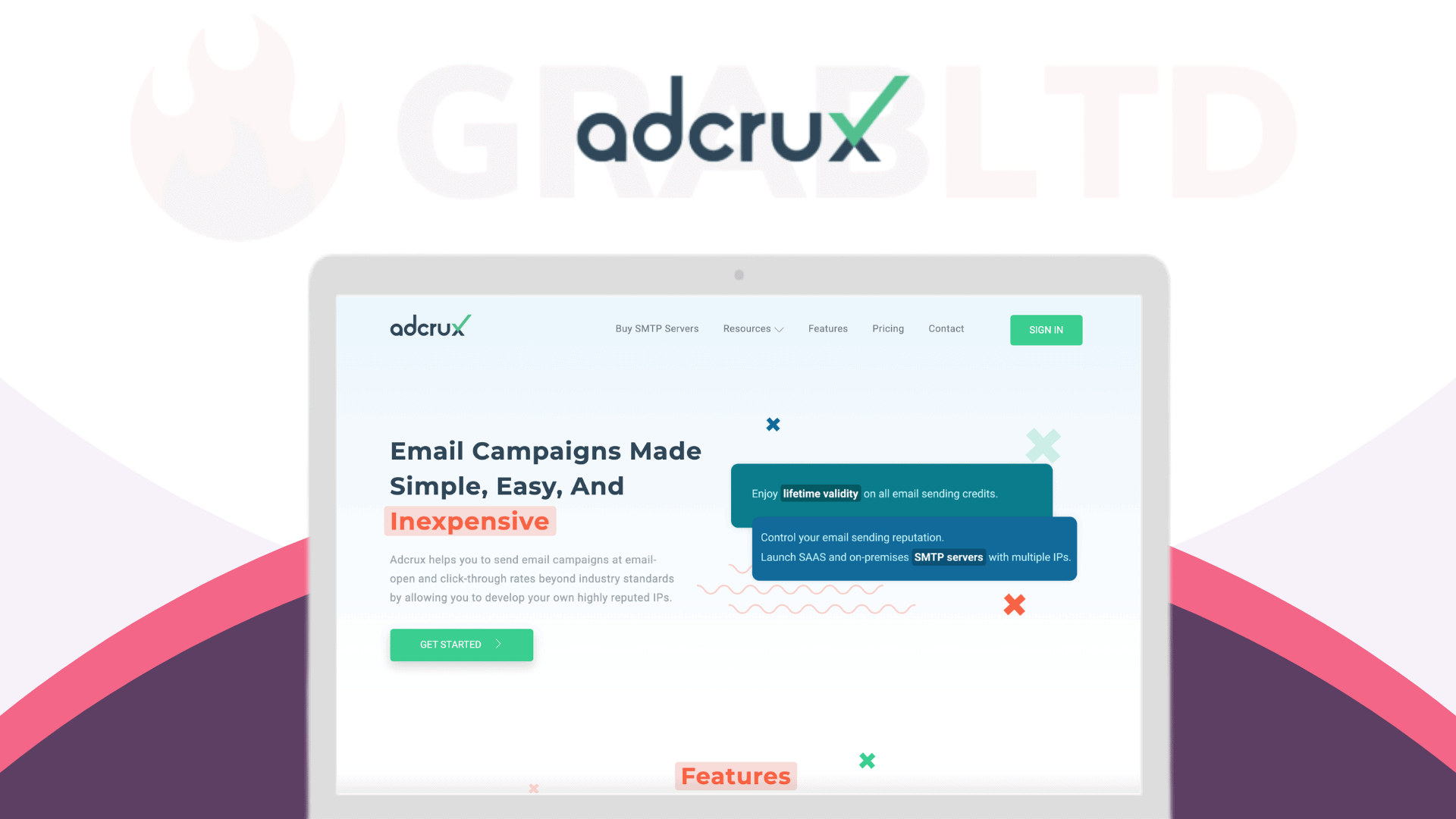 Adcrux | All-In-One Email Marketing Software 1