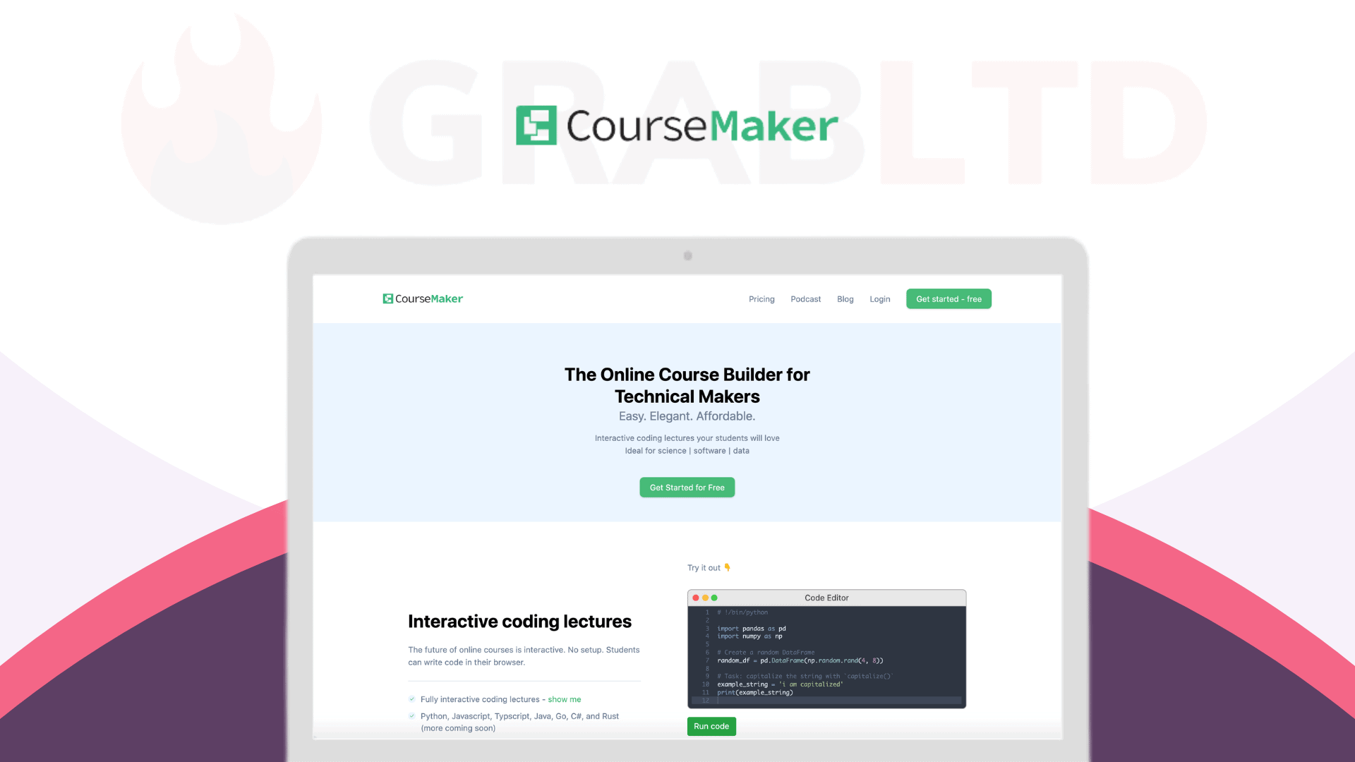 CourseMaker | Create & Sell Unlimited Online Courses 1