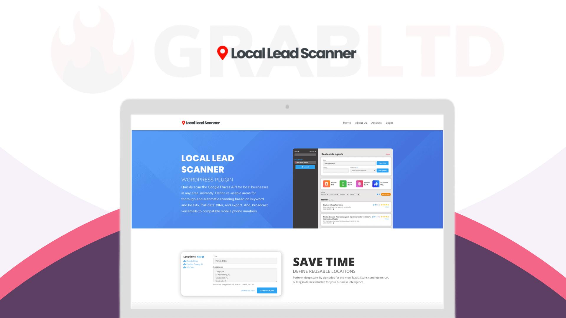 Local Lead Scanner   Local Lead Finder WP Plugin 1