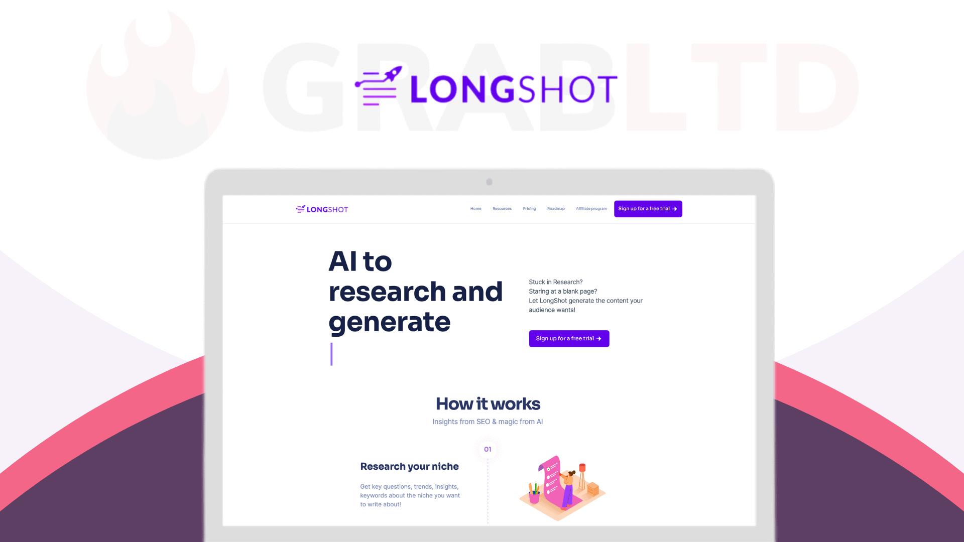 LongShot | AI Copywriting Software for Long Form Content 1