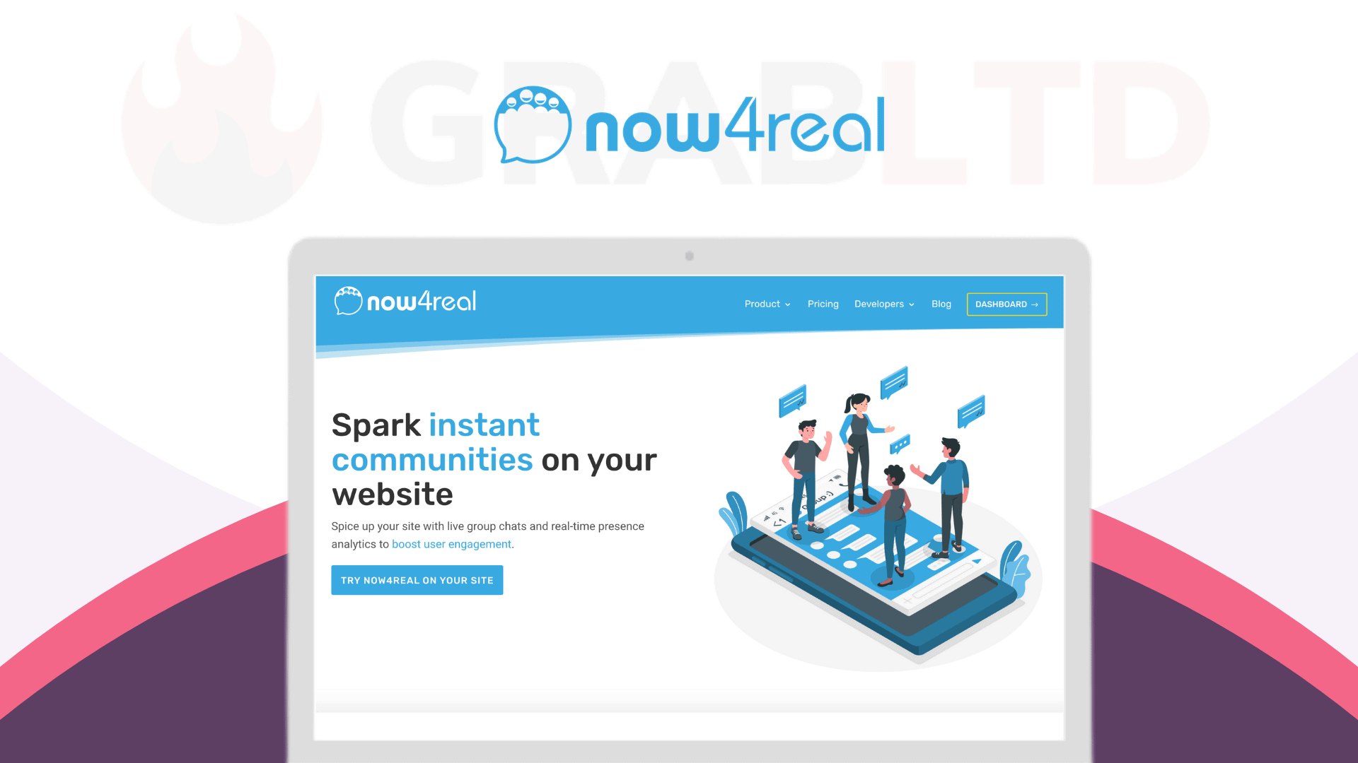 Now4real | Instant Communities On Your Website 1