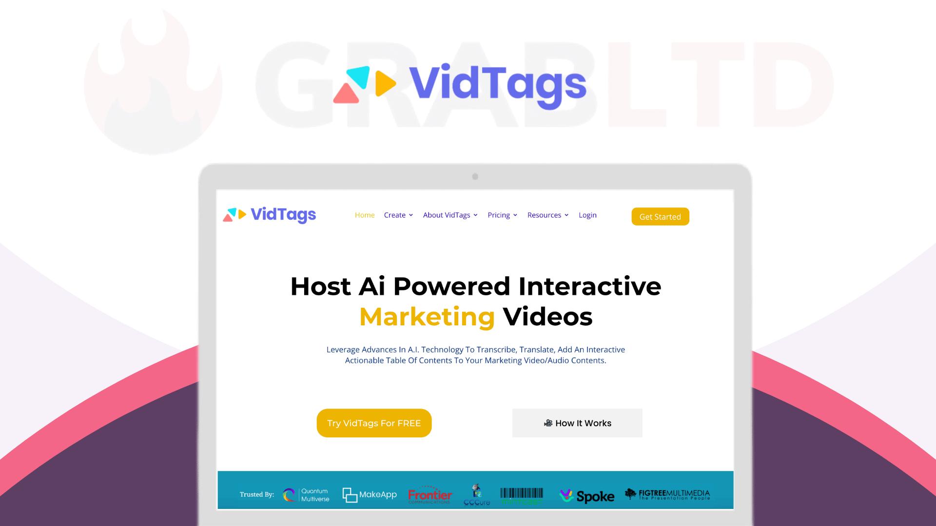 VidTags   Host AI Powered Interactive Marketing Videos 1